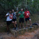 TNF 100 —  Course markings and the adventure of being part of Linda's rescue team!