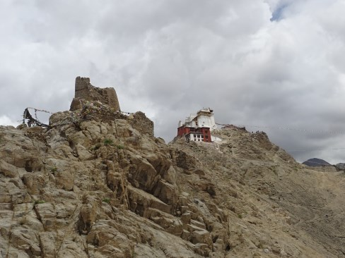 We visited the Leh Palace in the afternoon