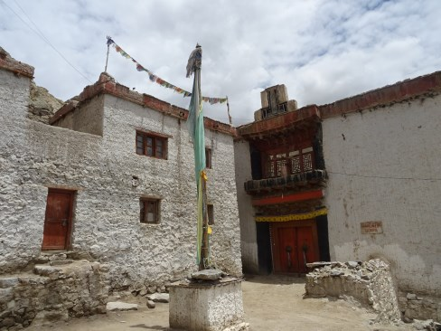 The old Leh palace