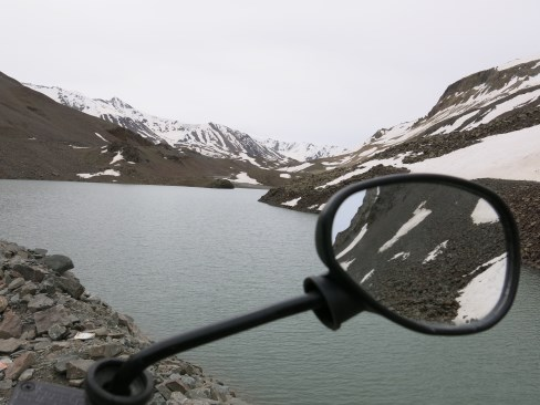 This is Barlilacha Lake. Usually frozen in winter