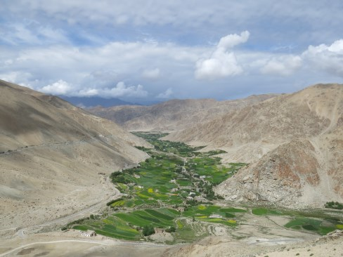 This is in the outskirts of Leh