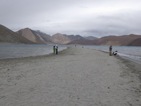 Pangong Lake - where 3 Idiots was shot. There is a Rancho Cafe there