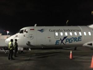 Landing in Lombok