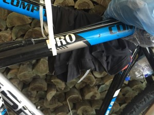 Want to steal Rom's bike? It comes with his dirty undies